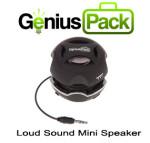 Genius Pack Logo & Speaker