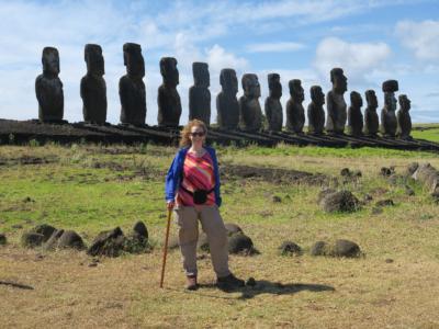 Ahu Tongariki, Easter Island, Isla de Pascua, Chile, South America