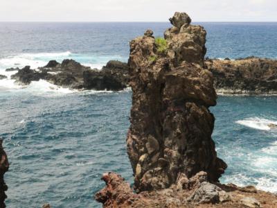Ana kai Tangata Easter Island, Rapa Nui, Hanga Roa, Isla de Pascua, Chile, South America