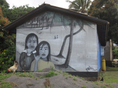Art, Paintings, Home, Easter Island, Rapa Nui, Hanga Roa, Isla de Pascua, Chile, South America