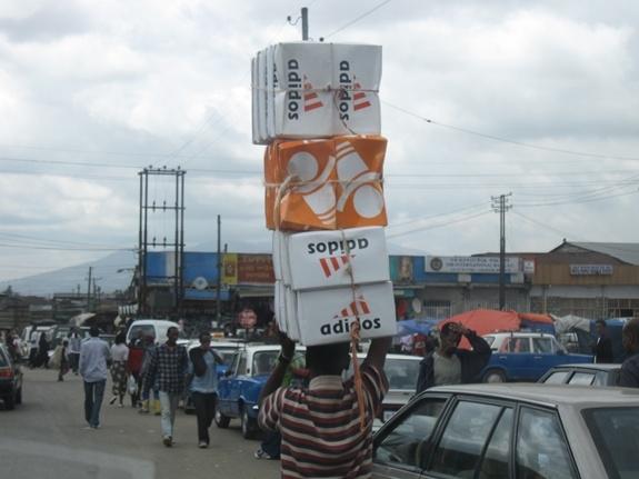 Addis Ababa, Ethiopia, Africa, Shoes