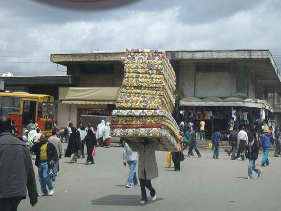 Addis Ababa, Ethiopia, Africa, Mattress