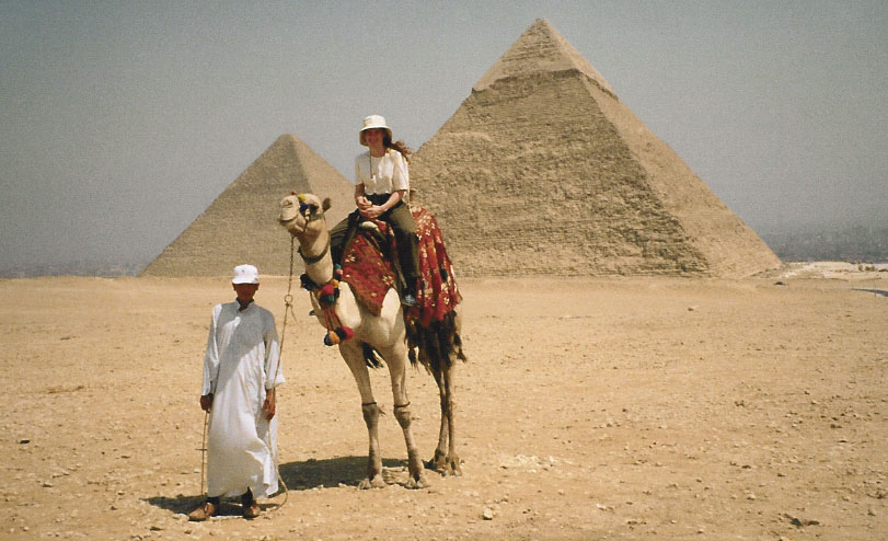 Egypt's Great Pyramids of Giza Camel Ride